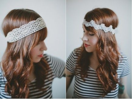 Make it! 2 Gorgeous DIY Headbands In Less Than 10 Minutes!