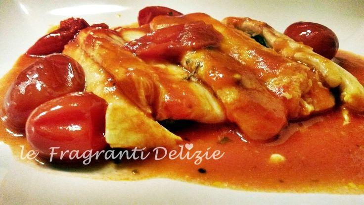 Filetto+di+pesce+Spatola+al+pomodoro