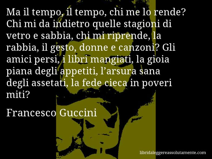 Cartolina con aforisma di Francesco Guccini (9)