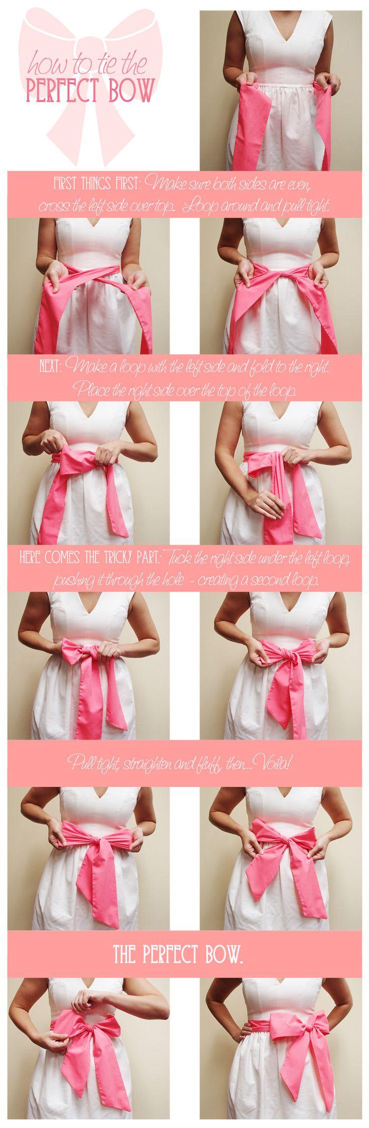 How to Tie the Perfect Bow - elle & k boutique   Women's Online Boutique