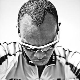 Adrien Nyonshuti of Team Rwanda.
