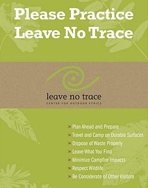 Leave No Trace Principles