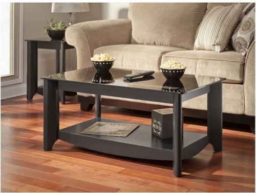 Black Coffee Table.