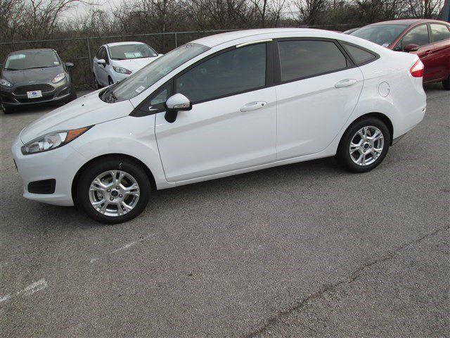 2014 Ford Fiesta Oxford White For Sale In San Antonio TX Vin 3FADP4BJXEM195741
