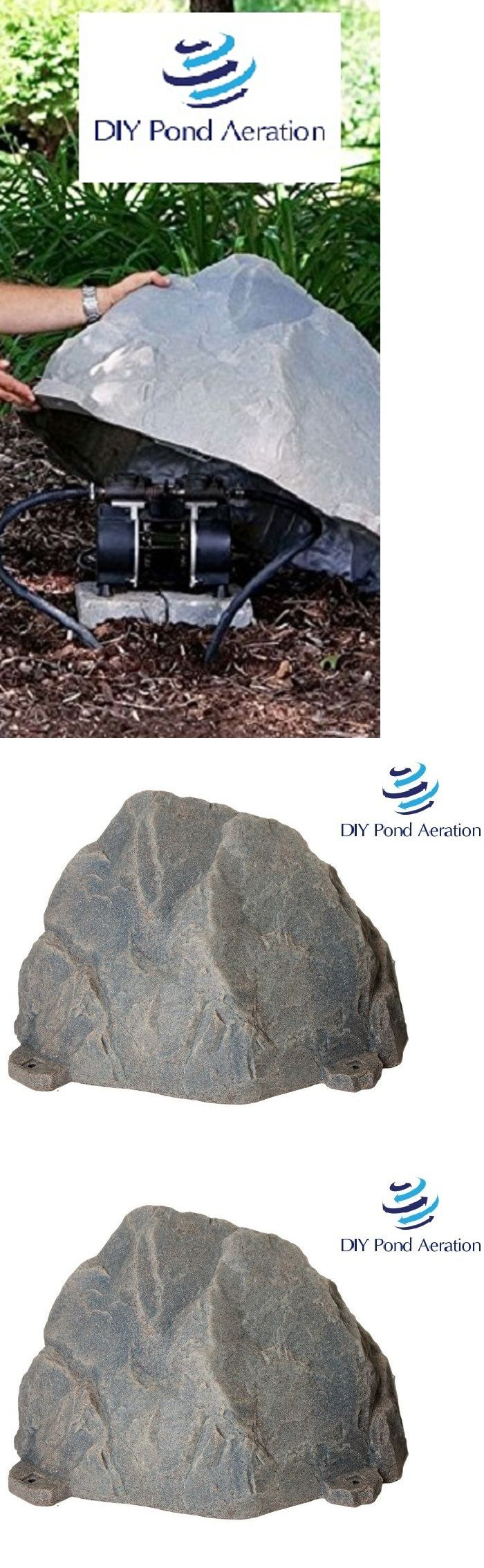 Fish Pond Supplies 134750: Artificial Rock Cover Enclosure For Pond Aerators Septic Pumps Aeration Motors -> BUY IT NOW ONLY: $218.99 on eBay!