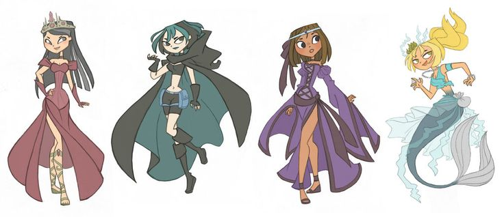 Total Drama Fantasy by kikaigaku on deviantART