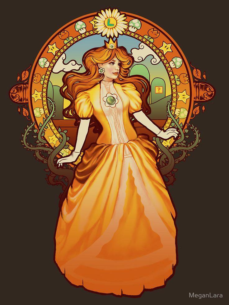 """Daisy Nouveau"" T-Shirts & Hoodies by MeganLara | Redbubble"
