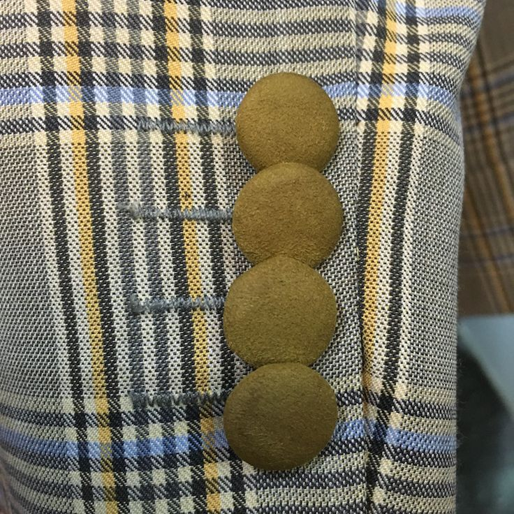 Kinslager Sports Jacket with Amaretta Lapels and Patch Pockets