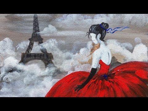 20+ beste ideeën over Acrylcanvas op Pinterest - Aquarel ...