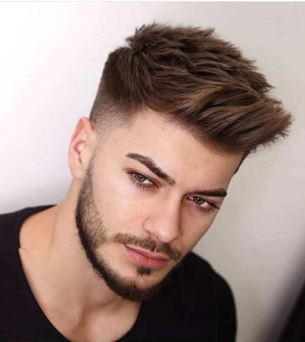 14 Hottest Men Haircut Styles The Glossychic Men Haircut Styles Trending Hairstyles For Men Mens Haircuts Short