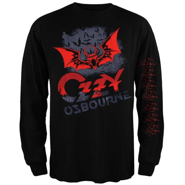 Ozzy Osbourne - Bats Long Sleeve T-Shirt
