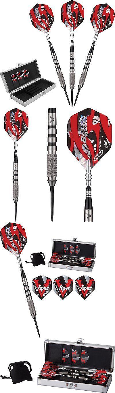 Darts-Steel Tips 26332: Viper Blitz 24G 95% Tungsten Steel Tip Dart Set 23-2724-24 Darts Flights Shaft -> BUY IT NOW ONLY: $71.19 on eBay!