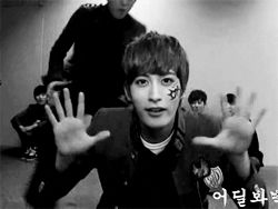 The most accurate gif of Jaehyo's relationship with Block B.