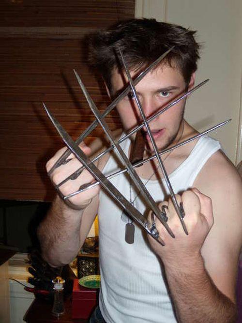 DIY Kickass X-Men Wolverine Claws