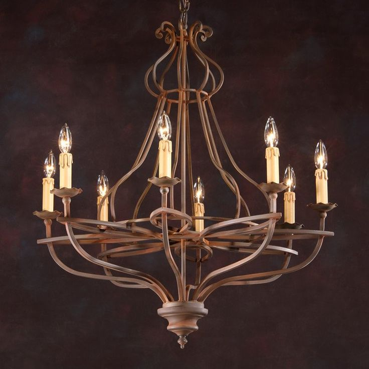 hand lighting. eighlight light handwrought iron chandelier with burnished frame this is handcrafted in italy hand lighting h
