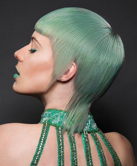 Andrew Smith Short Green Hairstyles