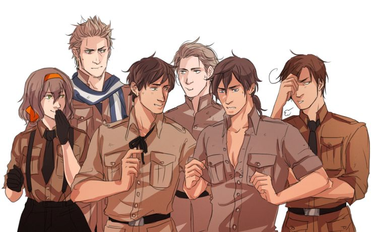 APH: Gang by min-miau Belgium, Netherlands, Spain, Luxembourg, Portugal, S. Italy Romano