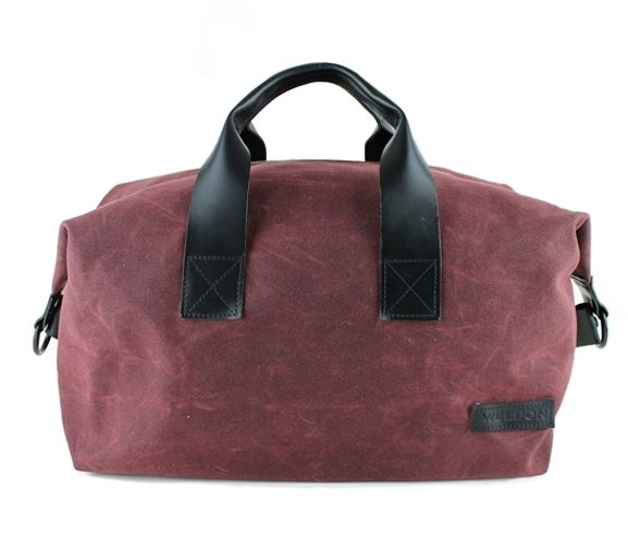 WELDON BAGS - Women's boston weekender leather bag. Made in Great Britain.