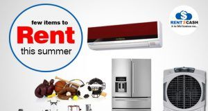Five things which you need only in summer- Get it from rent2cash