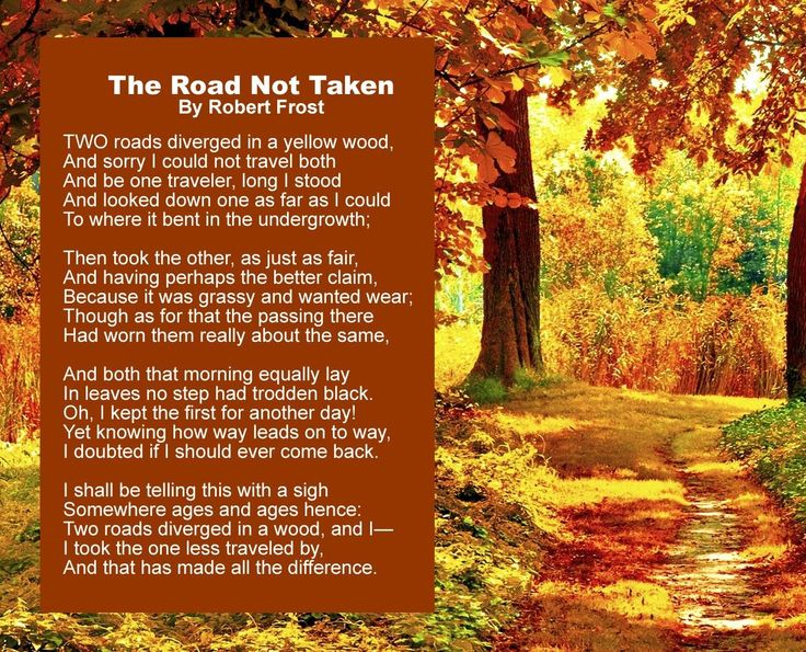 an analysis of the road not taken On the many tricks and contradictions of the road not taken  if we give the poem its popular, naive interpretation, then the sigh is one of.