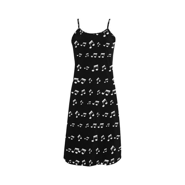 Musical Notes Alcestis Slip Dress (Model D05)