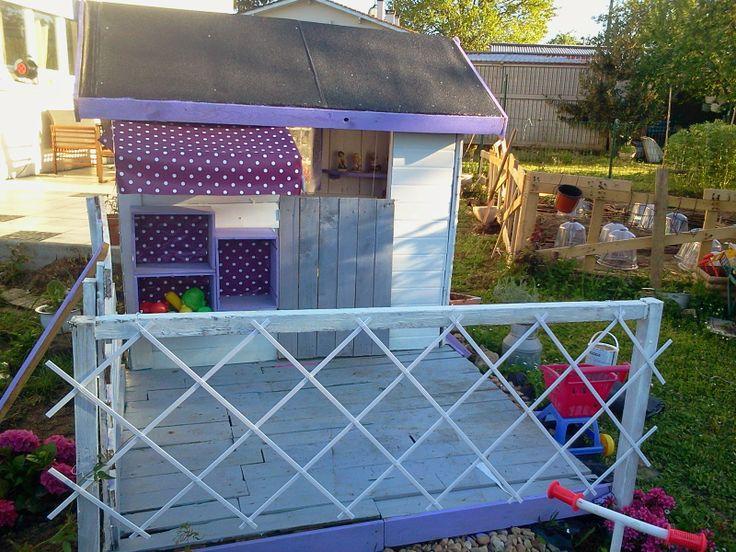 21 best creation cabane images on Pinterest Doll houses, Pallet - Construire Sa Maison En Palette