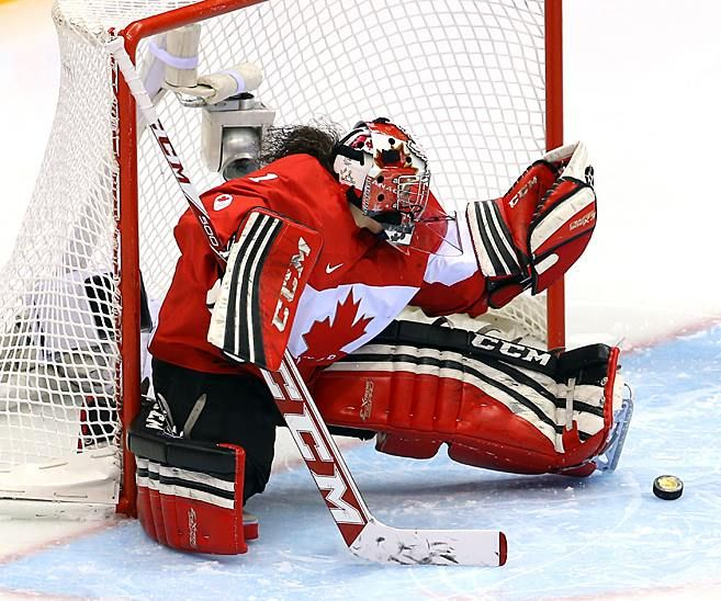 """Hell yes. """"With newly-acquired netminder Viktor Fasth not scheduled to arrive until later this afternoon, Olympic gold medal-winning Team Canada goalie and Edmonton native Shannon Szabados will practice with the #Oilers this morning."""""""