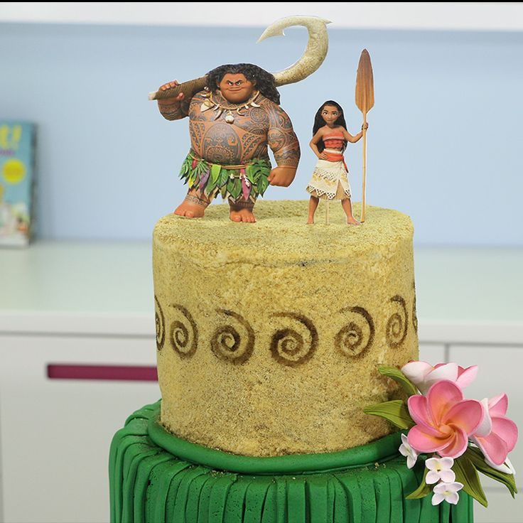 Best Sophias Th Birthday Inspired By Moana Disney Princess - Maui birthday cakes