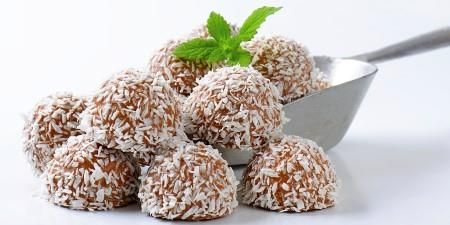 Kokosboller uten sukker