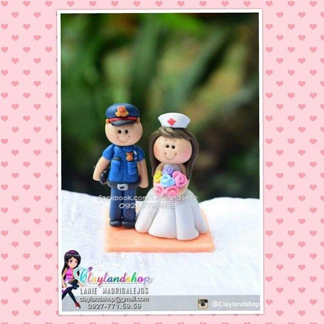 Police nurse souvenir