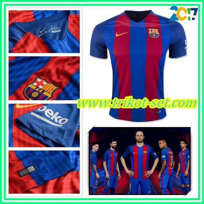 Neu Barcelona Trikot Rot/Blau Heim 2016/17 Online Shop