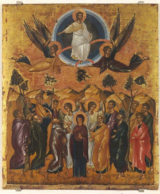 Παναγία Ιεροσολυμίτισσα: Η σημασία της εορτής της Αναλήψεως του Χριστού - Ἁ...