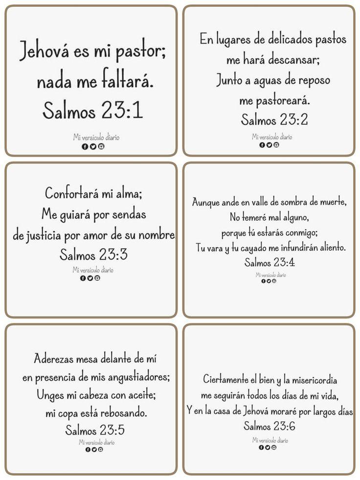 Salmos 23:1-6 Psalms 23:1-6