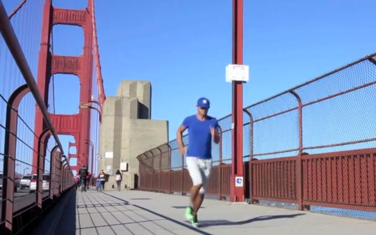 Running » Golden Gate Bridge (San Francisco) »