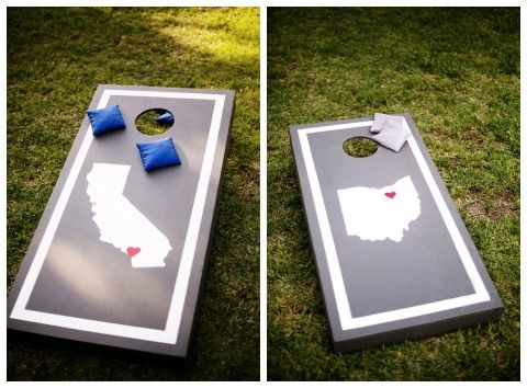 add some fun with cornhole on itsabrideslifecomwedding cornhole gamesdiy wedding - Cornhole Design Ideas