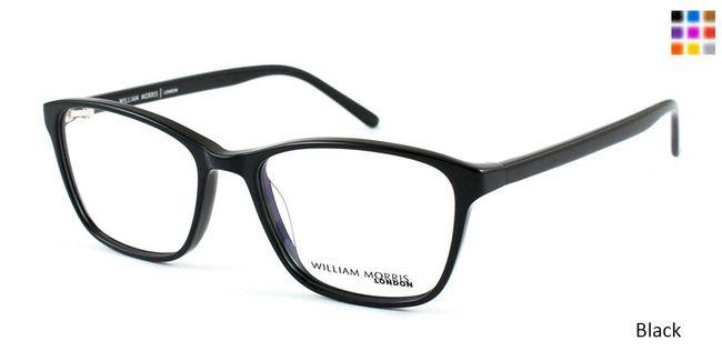 41069b5618a Black William Morris London WM3508 Eyeglasses