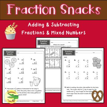 This fraction unit is carefully sequenced to practice adding and subtracting fractions and mixed numbers of commonly used denominators. It contains 36 worksheets, 2 quizzes, and printable fraction bars. I created this unit because I had difficulty finding worksheets that only introduced one new concept at a time.