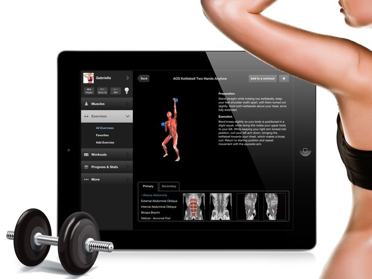 Rediscover your workout with iMuscle2 - http://applications.3d4medical.com/imuscle2