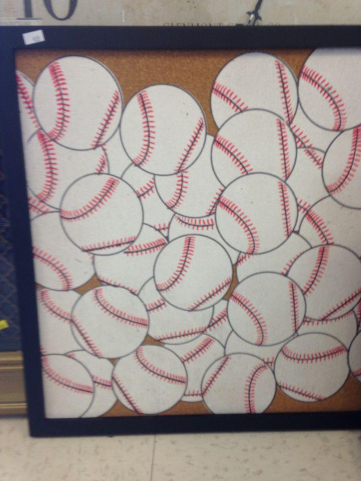 Baseball bulletin board