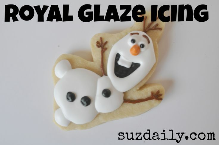 Royal Glaze Icing - supposed to dry like normal royal icing with out being break your teeth rock hard