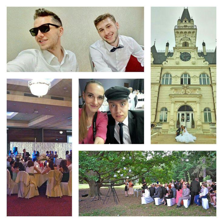 Včera rozdelene na dvoch svadbičkách ;-) #nepršalo #wedding #budmerice #trnava #šamorin #holidayin #hotelkormoran #6 #7