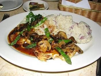 Cheesecake Factory Chicken Madeira: This is HANDS-DOWN one of my favorite recipes at any restaurant.  And I've had some good meals.  Seriously, so Deeee-Lish.