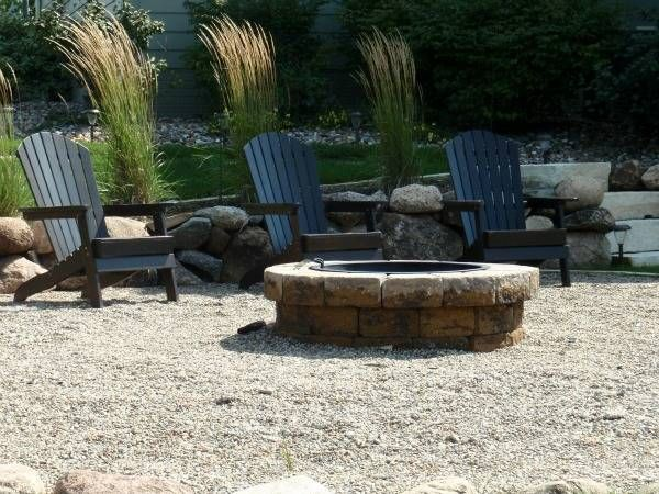 17 best images about fire pit on pinterest gardens fire for Landscaping rocks des moines