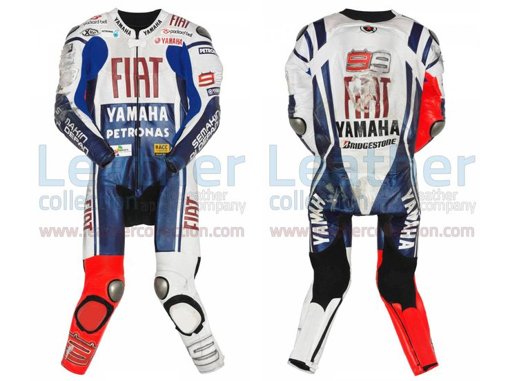 Jorge Lorenzo Yamaha Fiat MotoGP 2010 Leathers  https://www.leathercollection.com/en-we/jorge-lorenzo-motogp-2010-leathers.html  #Jorge_Lorenzo, #Jorge_Lorenzo_Leathers, #Jorge_Lorenzo_Yamaha_Fiat_MotoGP_2010_Leathers