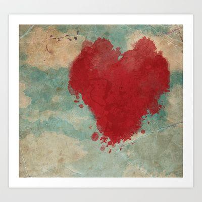 Free Love Art Print by Sonia Marazia - $15.60