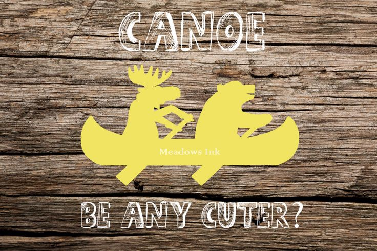 Yellow Canoe Bear & Moose Nursery Print, printable wall art decor 8x10 and 4x6- instant download digital JPEG by MeadowsInk on Etsy https://www.etsy.com/listing/209544097/yellow-canoe-bear-moose-nursery-print