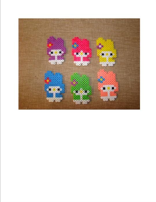 Little Hello Kitty perler beads by M.G. - Perler® | Gallery and like OMG! get some yourself some pawtastic adorable cat apparel