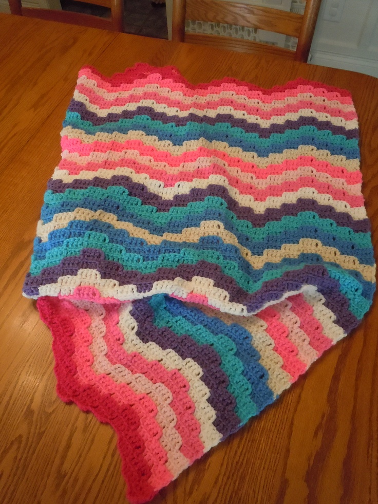 Knitting Patterns For Wool Scraps : 159 best images about Scrap Yarn Crochet afghans on Pinterest Afghan croche...