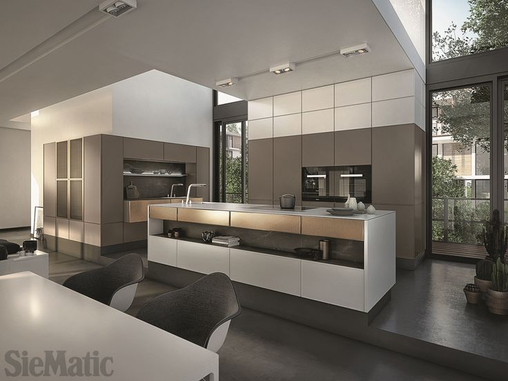 The SieMatic 3003 R: With Delicate Frames, Metallic Materials, Fine Woods,