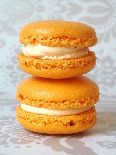 Basic recipe for french Macarons -- first try and they were perfect! The instructions are precise (gramms of egg-white and instructions for different types of ovens) and illustrated nicely. Did the filling with a different recipe...